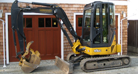 Excavating Equipment on Vancouver Island, BC