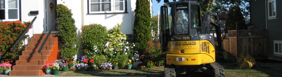 Excavation and Site Preparation, South Vancouver Island, BC
