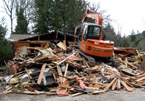 House Demolition in Saanich, BC